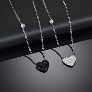 Jewelry - • Alexis • Dainty Rhinestone Heart Necklace